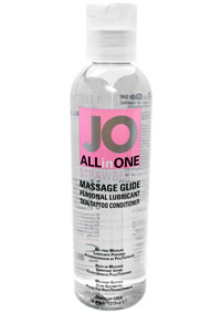 Jo 4oz Sensual Massage Oil Strawberry